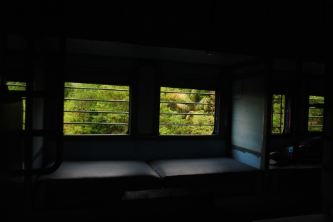 The window never stops being green