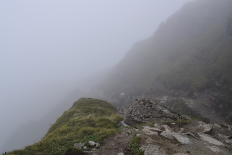 Misty Mountains.. On the way to Bhagwabasa